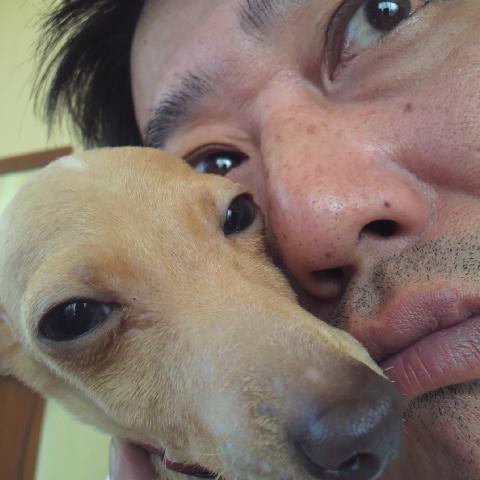 坂上さんとリク君