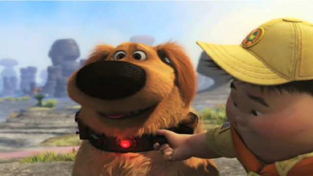 カールじいさんの空飛ぶ家に登場する犬が実世界に!?犬語翻訳機をつけ公園へ!反応は?のアイキャッチ