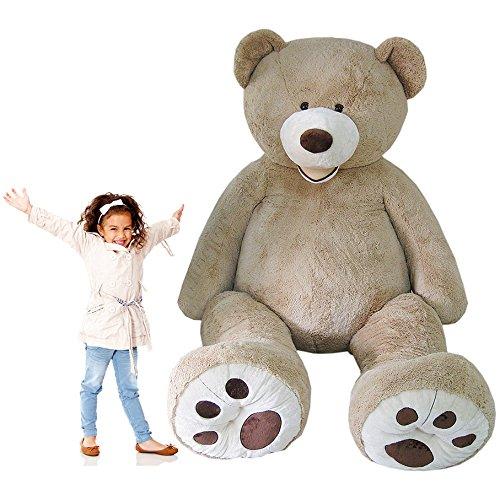 巨大な熊のぬいぐるみ