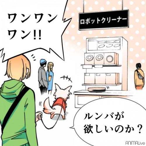 犬と買い物4