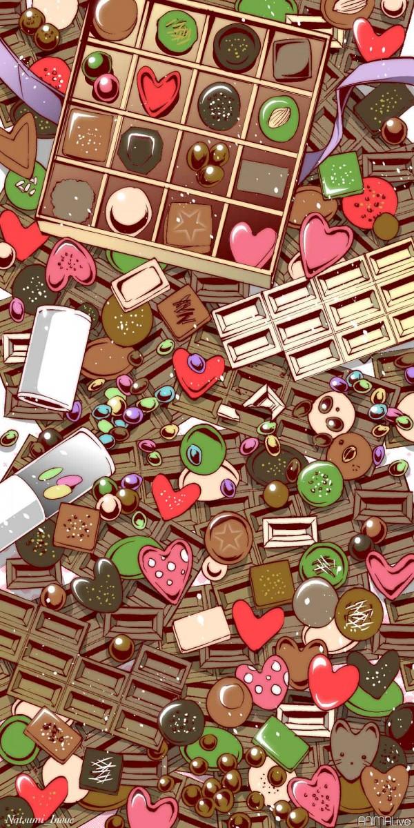 チョコレートと動物